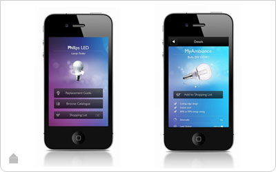 Philips Led lamp Finder App - Led verlichting