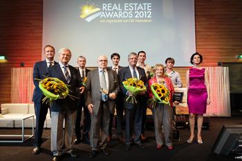 Real Estate awards 2012 - Vastgoedoscars voor vastgoedprofessionals