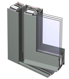 Reynaers Aluminium - CS 104 Raam en deursysteem