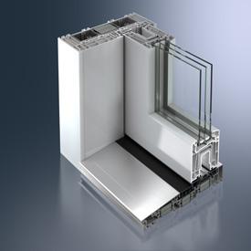 Schüco ThermoSlide Hefschuifdeur voor Laagenergiebouw