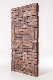 Vandersanden baksteenpaneel Signa met Steenstrippen
