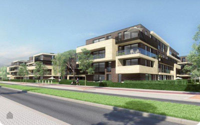Nieuwbouwproject The Mills op Molenveld Noord in Edegem