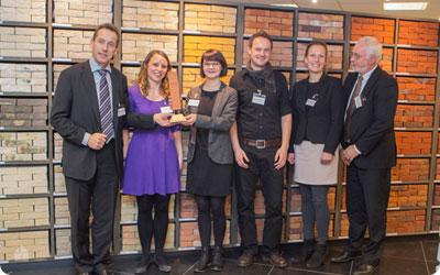 Vandersanden Group wint Worldwide Brick Award
