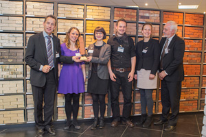Vandersanden Group wint Worldwide Brick Award