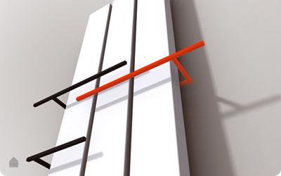 Vasco designradiatoren meta en beams