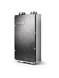 Ventilatiesysteem Vasco DII met sensorsturing en Led indicators