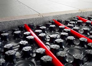 Viega Fonterra base flat 12 vloerverwarming met beperkte opbouwhoogte