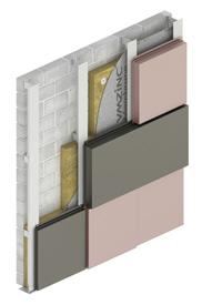 VMZINC Mozaik cassettes met 3d effect en schaduweffecten