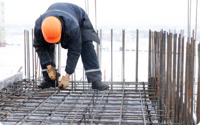 Meer weerverlet in de bouw afgelopen winter