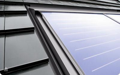 Zonneboilerinstallaties voor hernieuwbare energie